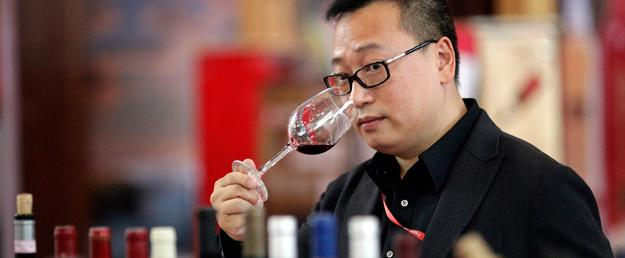 Importación de vino a China
